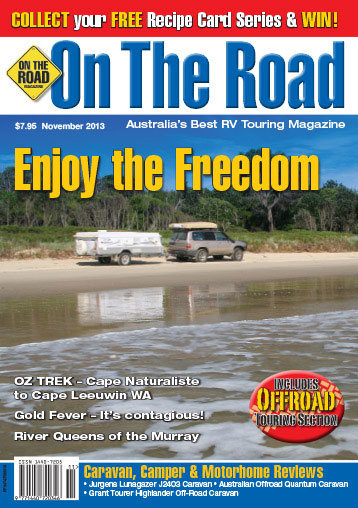On the Road Magazine - November 2013 Issue